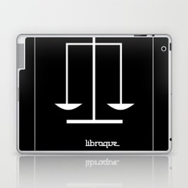 Libra ~ Libraque ~ Zodiac series Laptop & iPad Skin