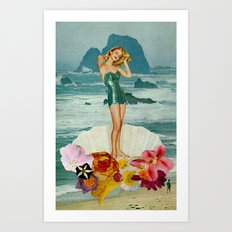 birth of venus Art Print