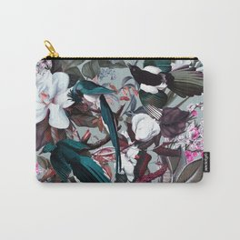 Floral and Birds XXIV Carry-All Pouch