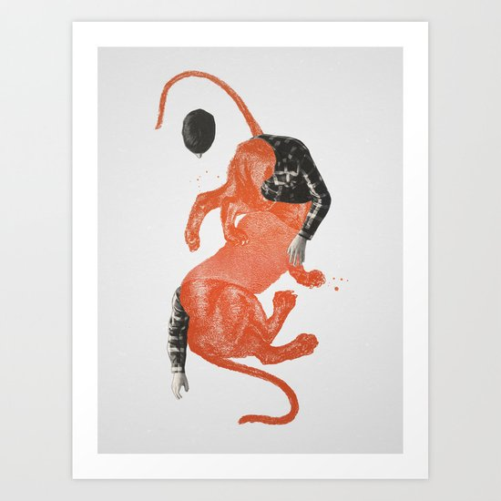 To The Beasts Art Print