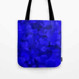 Rich Cobalt Blue Abstract Tote Bag
