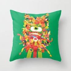 Sweet Monster Throw Pillow