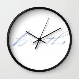 Breathe Wall Clock