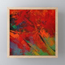 RED MOOD Framed Mini Art Print