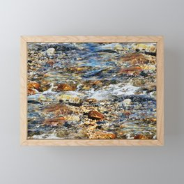 Peaceful Soothing Waters Framed Mini Art Print