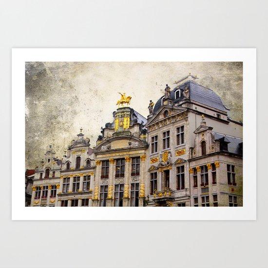 Brussels 1 Art Print