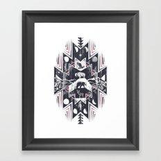 Phases (Light) Framed Art Print
