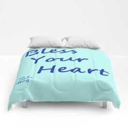 Bless Your Heart Comforters