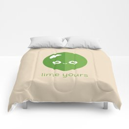 Lime Yours Comforters