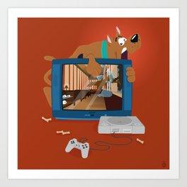 Horror Game Art Print