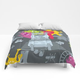 kid and ghosts Comforters