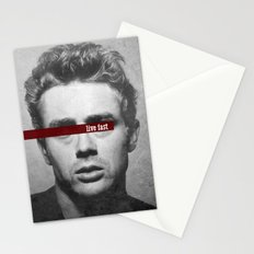 Live Fast Stationery Cards