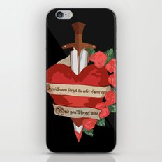 I Will Soon Forget iPhone & iPod Skin