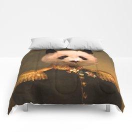 Panda Bear General | Cute Kawaii Comforters