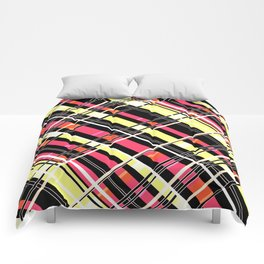 Striped pattern 12 Comforters