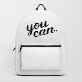 You can Backpack