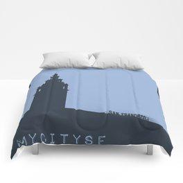 Ferry Building Comforters
