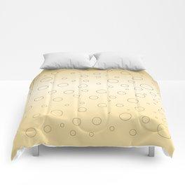 Design dots, gold ethno Comforters
