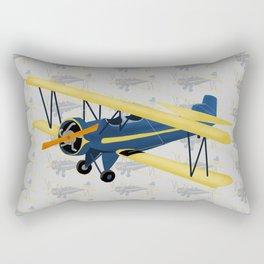 Bi-Plane - Fleet Model Rectangular Pillow