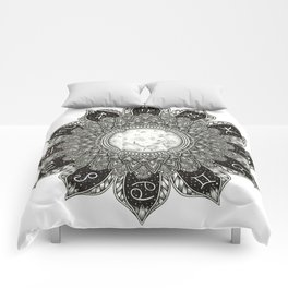 Astrology Signs Mandala Comforters