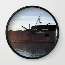 Paul R Tregurtha Wall Clock