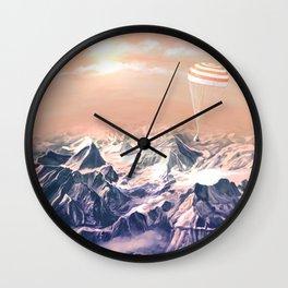 Astronaut Returns II Wall Clock