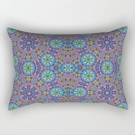 BBQSHOES: Kaleido-Fractal 1790 Rectangular Pillow
