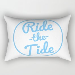 RIDE THE TIDE Rectangular Pillow
