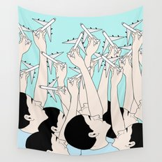 FLY FREE Wall Tapestry