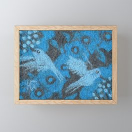 The Hummingbirds Framed Mini Art Print
