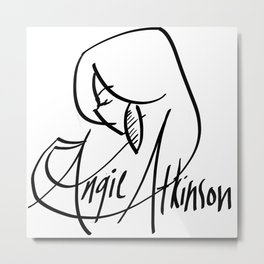 Angie Atkinson by Maya Brown Metal Print