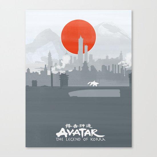 Avatar The Legend of Korra Poster Canvas Print