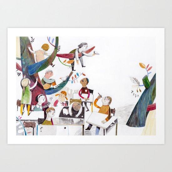la classe Art Print