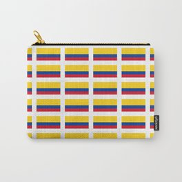 Flag of Colombia 2 -Colombian,Bogota,Medellin,Marquez,america,south america,tropical,latine america Carry-All Pouch