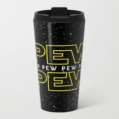 Pew Pew v2 Metal Travel Mug