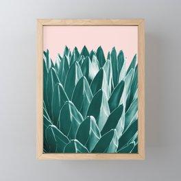Agave Chic #1 #succulent #decor #art #society6 Framed Mini Art Print