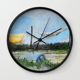 Erice art 6 Wall Clock