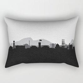 City Skylines: Kabul Rectangular Pillow