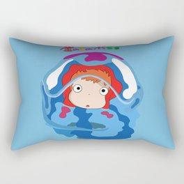 gake no ue no ponyo Rectangular Pillow