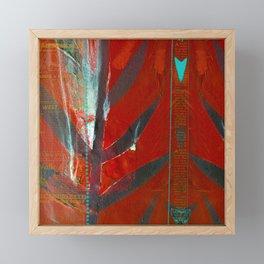 Tribal Flair Framed Mini Art Print