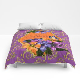 Paisley Anemones  Comforters