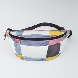 the daily creative project: abstract - the crap on the wall Fanny Pack