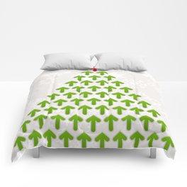 Celebratory tree Comforters