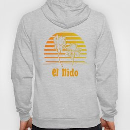 El Nido Philippines Sunset Palm Trees Hoody