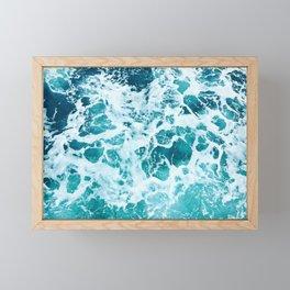 Ocean Splash IV Framed Mini Art Print