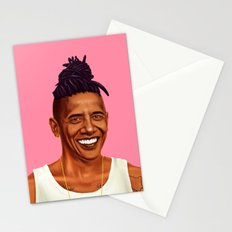 Hipstory - Barack Obama Stationery Cards