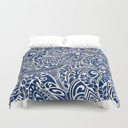 Hawaiian tribal pattern III Duvet Cover
