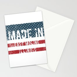 Made in East Moline, Illinois Stationery Cards