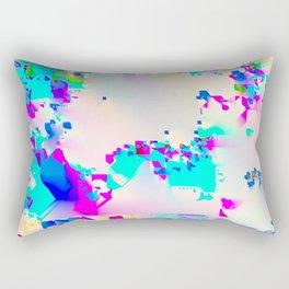 soft glitch Rectangular Pillow