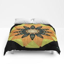 Fleuron Composition No. 224 Comforters